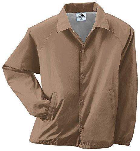 Augusta Athletic Wear - Augusta Sportswear Men's Nylon Coach's Jacket/Lined 3XL Khaki