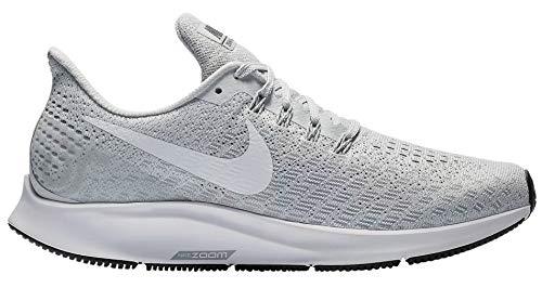 Nike Women's Air Zoom Pegasus 35 Running Shoes (6 M US, Pure Platinum/White/Wolf Grey)