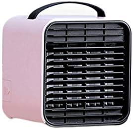 ミニクーラークーラーファンパーソナルエアコンエアコンクーラーデスクトップエアコンミニエアコンusbエアコン家庭用エアコン用クーラー (Color : Pink, Size : 127*120*132MM)