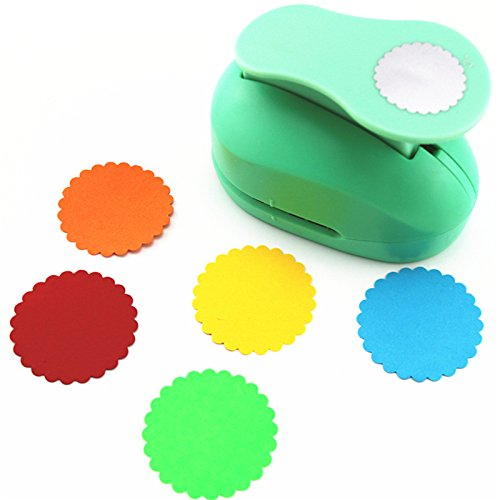 CADY Crafts Punch 2-Inch Paper Punches Craft Punches - Felt Circle Punch