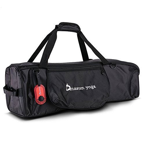 nine-cif-waterproof-full-zip-exercise-yoga-bagyoga-mat-carrier-tote-bag-black