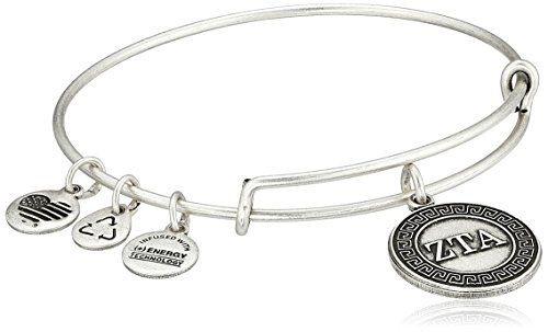 Alex and Ani Sorority Zeta Tau Alpha Expandable Rafaelian Wire Bangle Bracelet