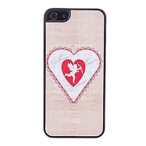 SHOUJIKE Angel Pattern Hard Case for iPhone 5/5S
