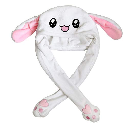 Animal with Airbag Jumping Rabbit Ear Movable Plush TIK Tok ()
