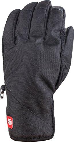 Mens Pipe Glove - 686 Men's Ruckus Pipe Gloves, Black, Medium