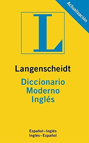 Diccionario Moderno InglÉs/EspaÑol Langenscheidt