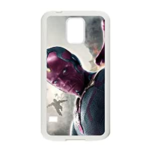 vision avengers age of ultron mobile1 Samsung Galaxy S5 Cell Phone Case White 53Go-285915