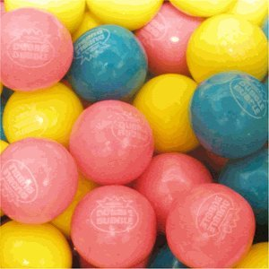 Cotton Candy Dubble Bubble Gumballs 1