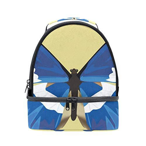 Papillon isotherme Cooler Boîte l'école à à réglable avec bandoulière pour Alinlo lunch Sac Pincnic Tote dFAdwq