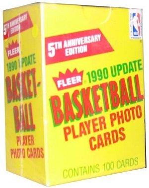 NBA Basketball Player Photo Cards - 1990 Update - 5th Anniversary Edition (Basketball Photo Nba)