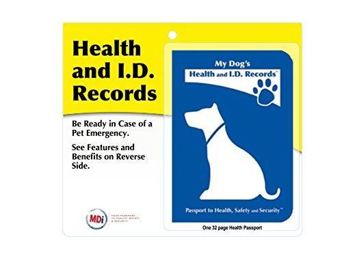 My Dog's Health & I.D Records