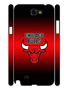 Exquisite Personalized Handsome Photo Series Men Pattern Basketball Team Logo Snap on Background Skin for Samsung Galaxy Note 2 N7100 Case