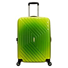 American Tourister Air Force 1 28-Inch Spinner Large Expandable, Gradient Yellow, Checked – Large