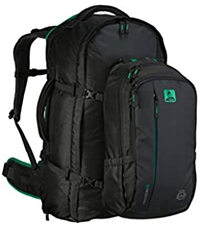 b90b13eb59 Mountain Warehouse Traveller 60 + 20L Rucksack - Detachable Daypack ...