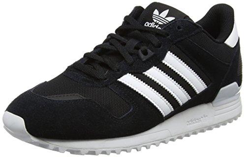 Basse Footwear White ZX Black adidas Black Scarpe Core da Unisex 700 Core Adulto Ginnastica Nero qZPXUTB