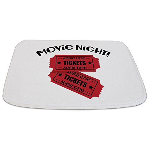 CafePress - Movie Night! - Decorative Bathmat, Memory Foam Bath Rug by CafePress