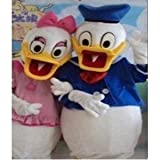 Couples Donald Duck cartoon Character Costume(Two pieces)