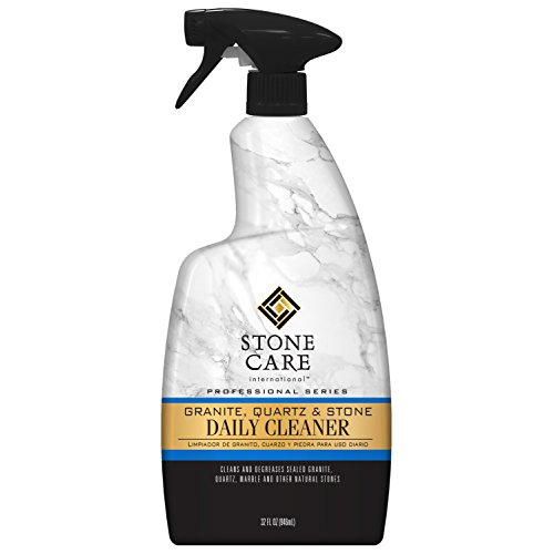 - Stone Care International Granite Cleaner - 32 Fluid Ounces Granite Quartz Tile Travertine Limestone Slate Clean