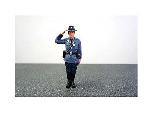 American Diorama Wholesale State Trooper Brian Figure For 1:24 Diecast Model Cars -  16163