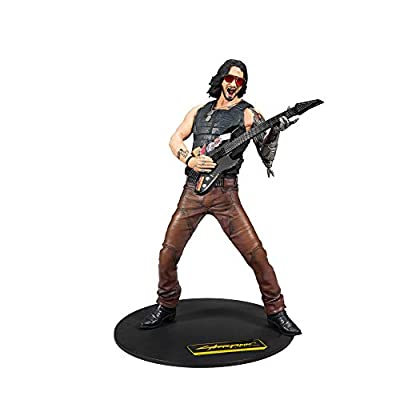 McFarlane Toys Cyberpunk 2077 12-inch Scale Johnny Silverhand Deluxe Figure: Toys & Games