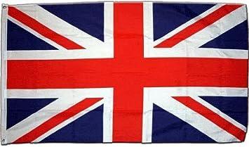 Flaggenfritze Grossbritannien-Union Jack XXL-Flagge/Fahne-Format: 150 x 250 cm-wetterfest Bandera, 250 x 150 x 1 cm: Amazon.es: Jardín