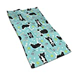 Border Collie Tennis Balls Kitchen Towels ¨C 17.5X27.5in Microfiber Terry Dish Towels for Drying Dishes and Blotting Spills ¨CDish Towels for Your Kitchen Decor 3
