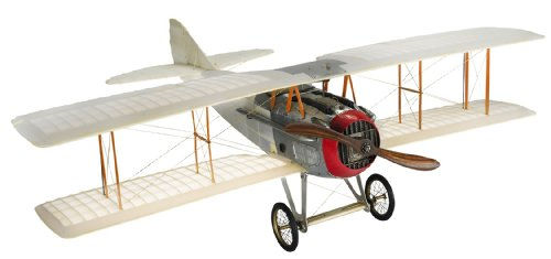Authentic Models Legendary Transparent Spad – Authentic Bi-Plane Model – Features Handmade Fabric-Covered Frame…