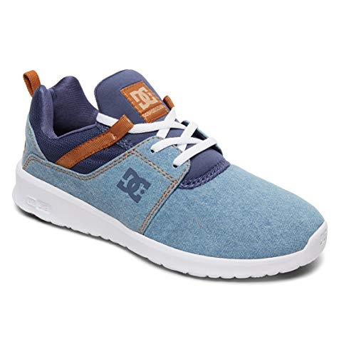 Denim Se Shoes Bleu Heathrow Tx Dc Baskets Femme CdtY0q4xw