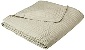 American Traditions French Tile Bedspreads, King, Sage