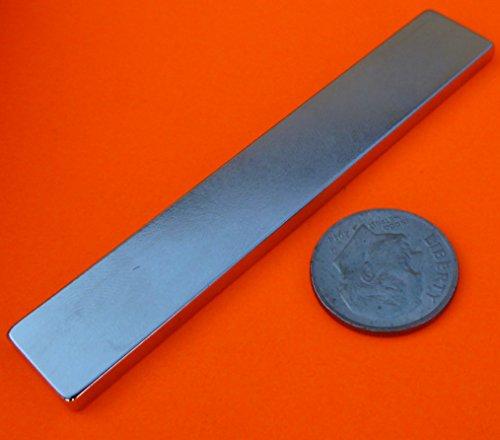 Super Strong Neodymium Magnet N45 3 x 1/2 x 1/8
