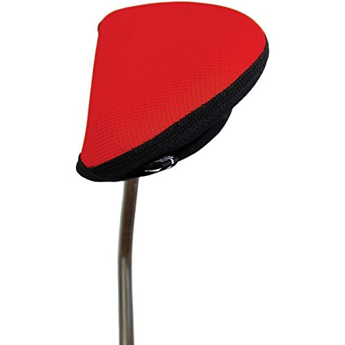 Stealth Golf Club Headcover for Oversized Mallet / 2 Ball Putter - Red