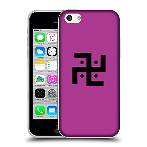 GoGoMobile Coque de Protection TPU Silicone Case pour // Q08370621 Religion 1 byzantin // Apple iPhone 5C