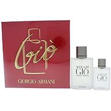 Giorgio Armani Aqua Di Gio Eau De Toilette Spray for Men, 2 Count