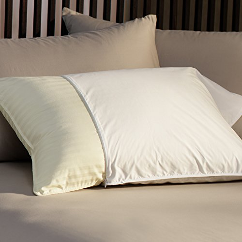 (Restful Nights Essential Pillow Protector King (20x36 inch) White)