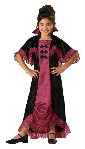 [Costumes For All Occasions Ic17004C10 Midnight Vampiress 2B Child 10] (Countess Of Darkness Child Halloween Costume)
