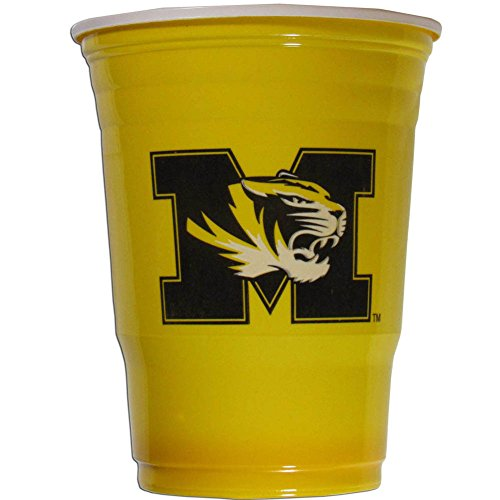 Siskiyou NCAA Missouri Tigers Plastic Game Day Cups 2 Sleeves of 18 (36 Cups)