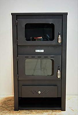 Estufa de leña con quemador de leña para horno, 14 kw: Amazon.es ...
