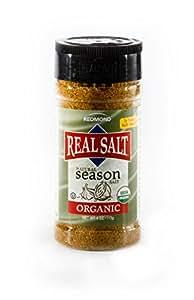 Redmond Real Salt, Seasoning Salt, 4.1 Ounce Shaker