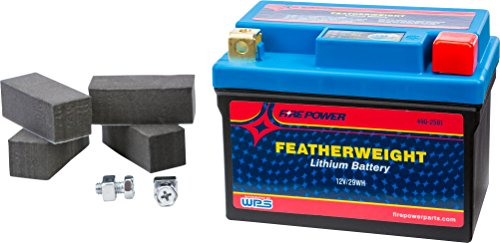 FirePower Featherweight Lithium Battery HJTZ7S-FP-IL (Motorcycle Battery Lithium)