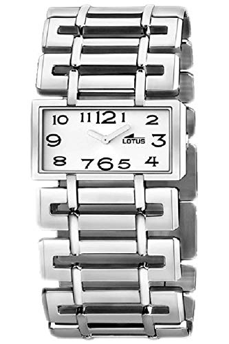 Lotus Cool Womens Analog Quartz Watch with Stainless Steel Bracelet 15434/7