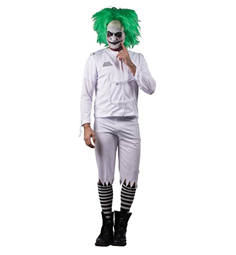 Costume Crazy Joker (Psych Ward Clown Adult Costume -)