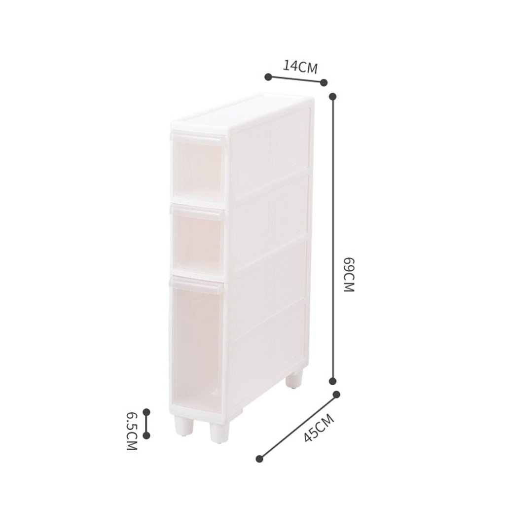 Amazon.de: LPYMX Küchenregal, Gesteppte Schließfach Küche Badezimmer ...