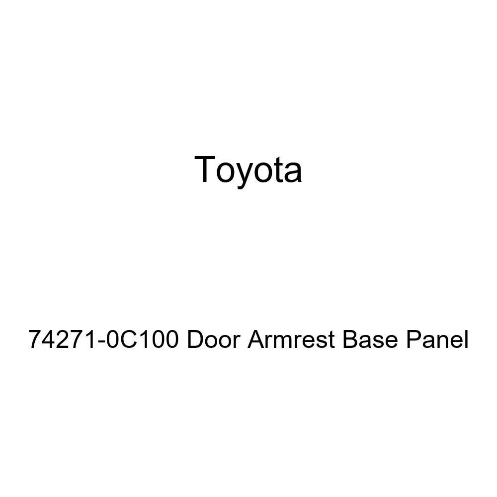 TOYOTA Genuine 74271-0C100 Door Armrest Base Panel