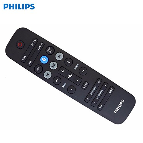 Philips 4-Device Universal Remote Control, Brushed Black