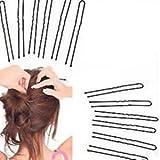 HOC Large & Medium U Shape Pins,Jura Pins, Bridal U Pins & Bun Pins for Kids/Girls/Women. (40 Pieces)