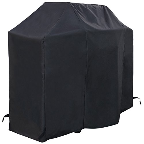 PrimeShield Premium BBQ Grill Cover, 58-inch Heavy Duty Waterproof Grill Cover for Most Brands of Grill - Black