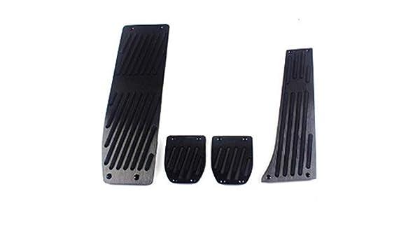 MT Foot Rest Pedals Set Universal For BMW E30 E36 E46 E87 E90 E91 E92 E93 M3 New