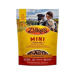 Zuke's Mini Naturals Training Dog Treats Chicken Recipe - 16.0 oz Pouch