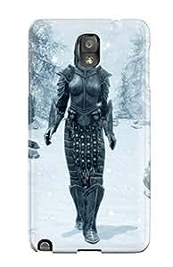 Unique Design Galaxy Note 3 Durable Tpu Case Cover Skyrim