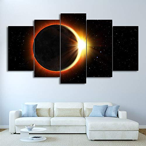 IGHFVJFG 5 Piece Canvas Wall Art -Canvas Wall Art HD Prints Poster Frame Child